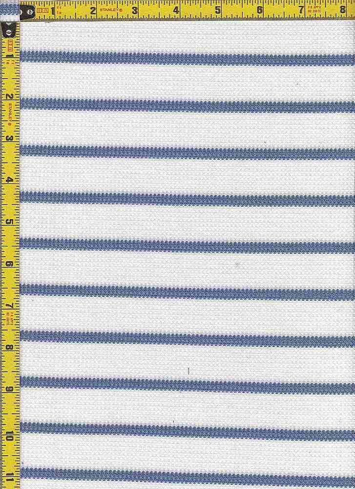 BP70044 / IVORY/DENIM / BP70044 WAFFLE STRIPES