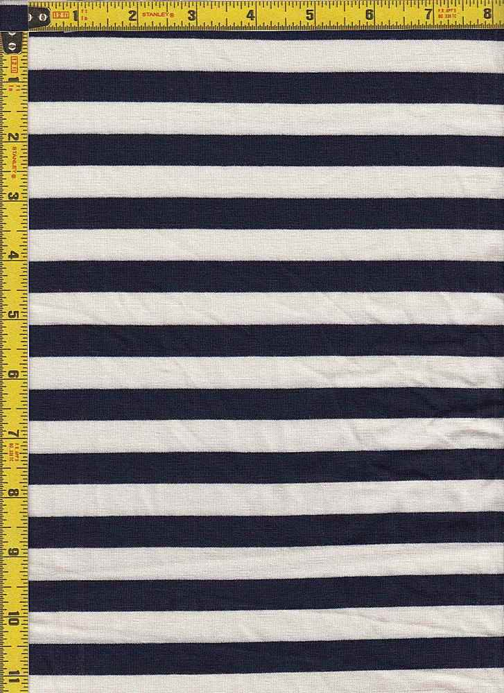"BP70048 / NAVY 9 [BLUEBERRY]/IVORY / BP70048 RS STRIPES 55 [1/2"" X 1/2""]"