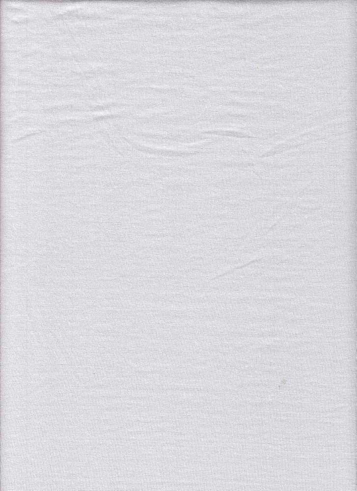 BP70025 / WHITE / BP70025 RIB MODAL SPANDEX 94RAYON MODAL/6S