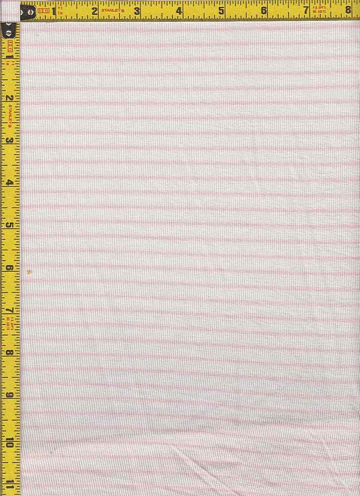 "BP70087 / IVORY/DUSTY PINK / BP70087 HACCI MESH STRIPES 11/16"" X 1/4"""