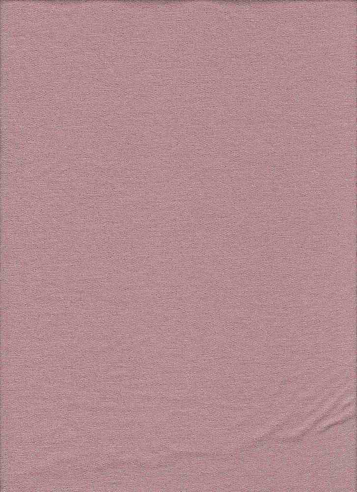 BP70089 / ANTIQUE MAUVE/SILVER / HEAVY FRENCH TERRY WITH FOIL