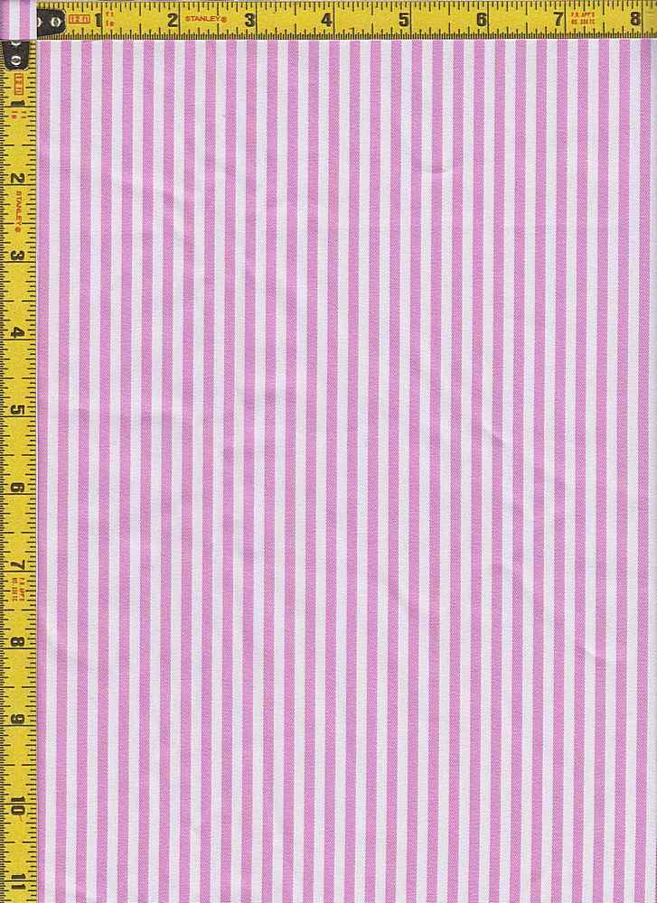 BP70107 / PINK / TWILL STRIPES 1