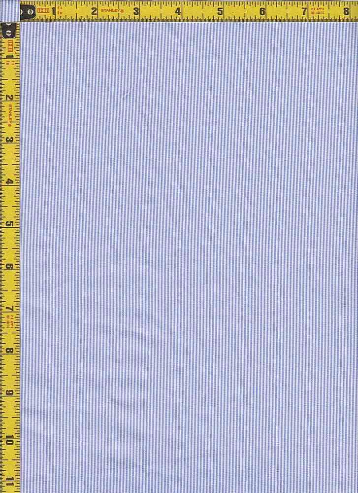 BP70109 / LT BLUE / TWILL PIN STRIPES
