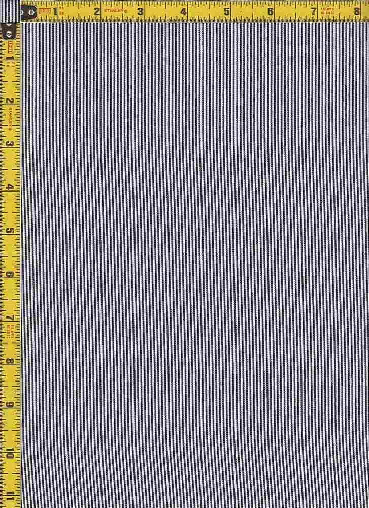 BP70109 / BLACK / TWILL PIN STRIPES
