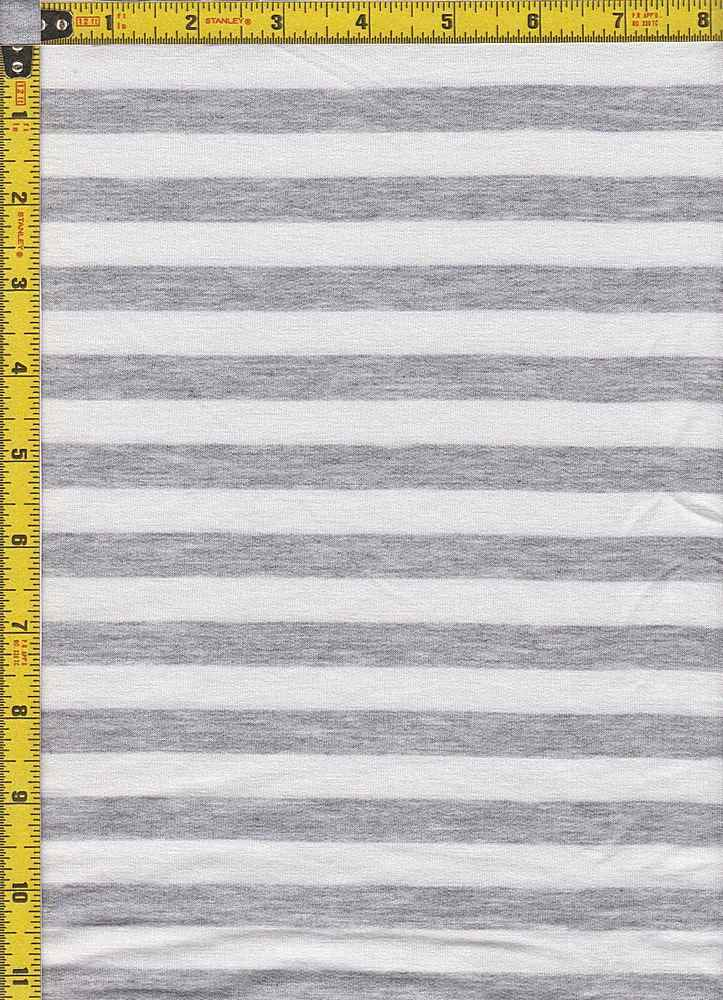 BP70114 / IVORY/H. GRAY / BABY FRENCH TERRY STRIPES - BP70114