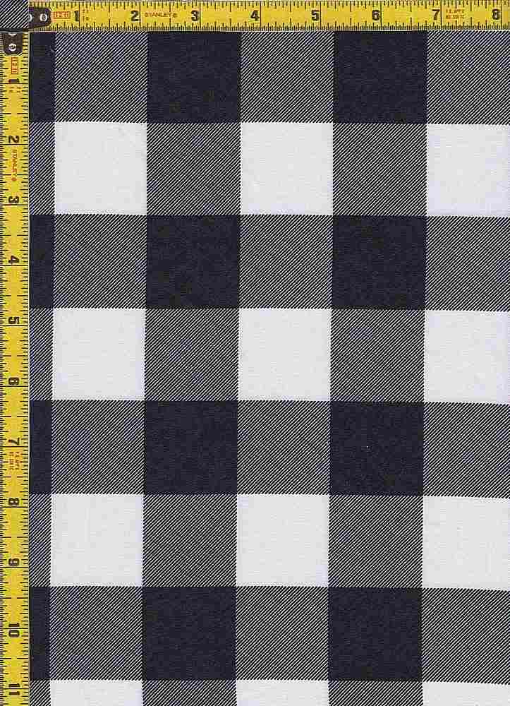 BP29115-14366 / BLACK / TWILL CHECKERED SOLID PRINT - 14366