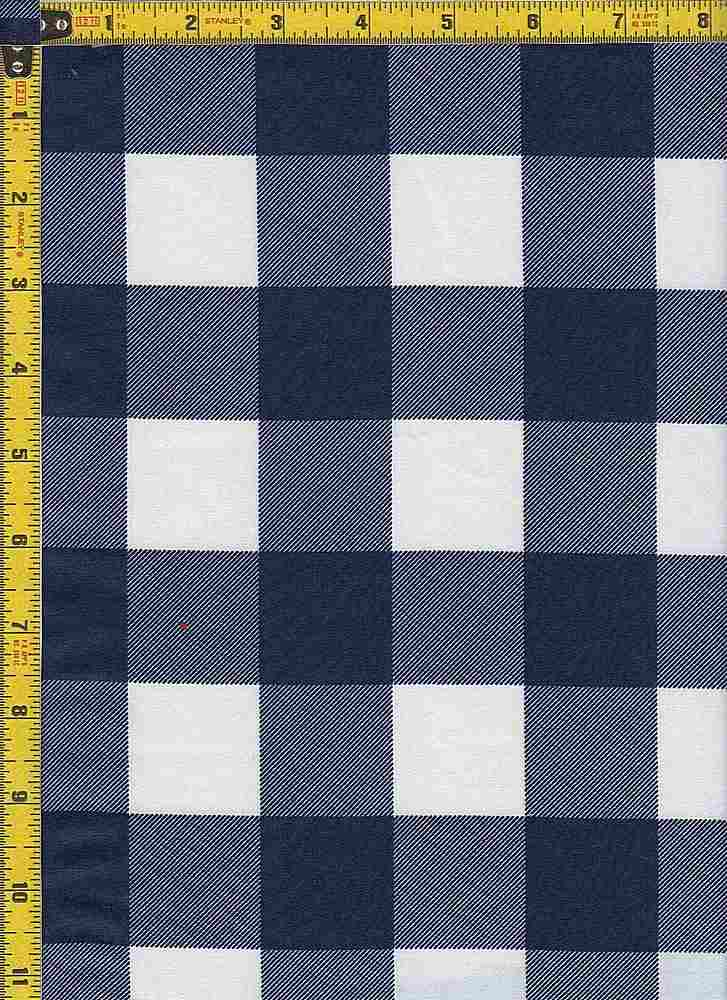 BP29115-14366 / NAVY / TWILL CHECKERED SOLID PRINT - 14366