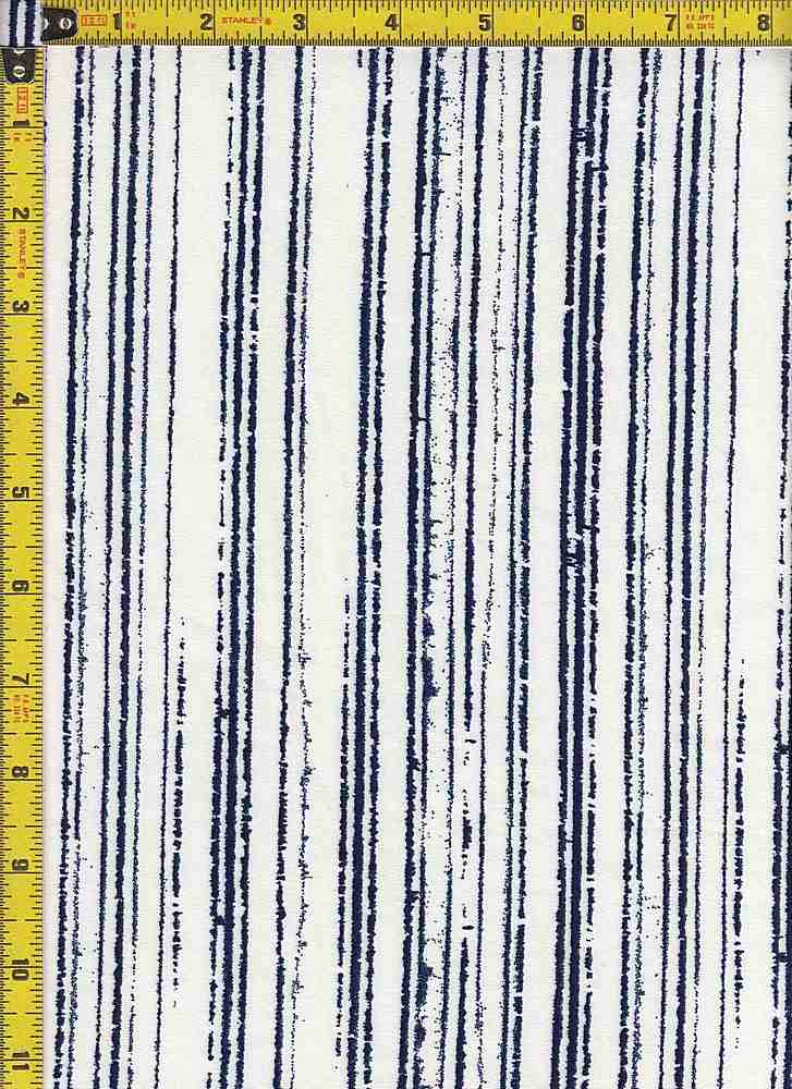 BP25055-14009 / 211 NAVY / DTY BRUSHED PRINT - 14009