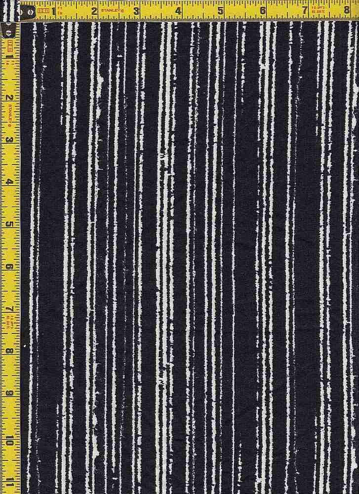 BP25055-14009 / 011 BLACK / DTY BRUSHED PRINT - 14009