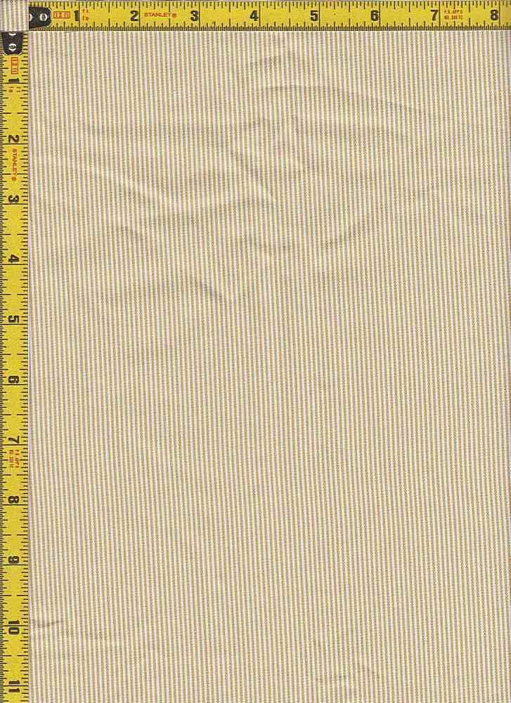 BP70109 / MUSTARD / TWILL PIN STRIPES