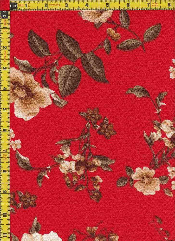 BP20056 - 22124 / RED / KOSHIBO PRINT - 22124