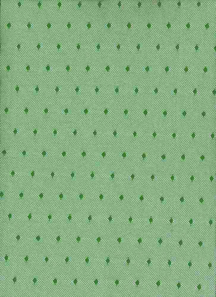 BP70082 / LIME GREEN / NYLON MESH POLKA DOT