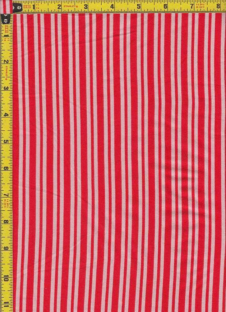 BP29055-14876 / RED/BLUSH / DTY BRUSHED STR PRINT-14876