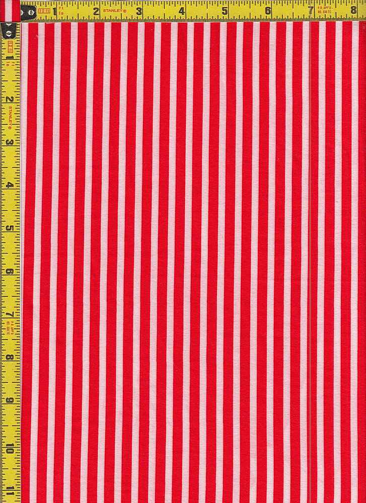 BP29055-14875 / RED / DTY BRUSHED STR PRINT - 14875