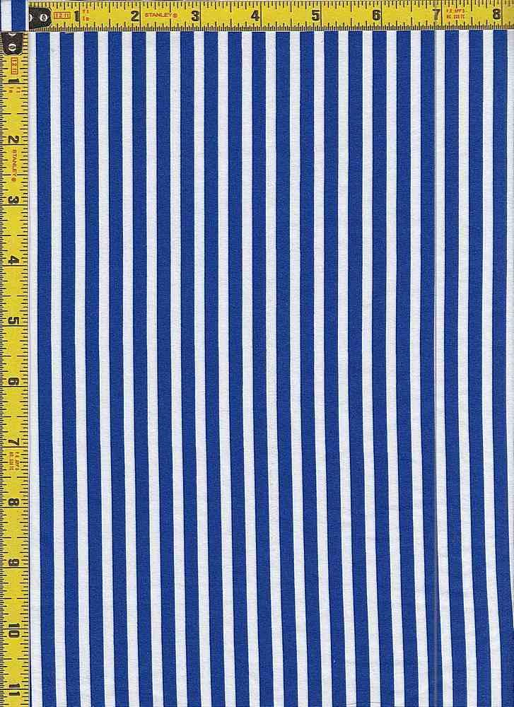 BP29055-14875 / ROYAL BLUE / DTY BRUSHED STR PRINT - 14875
