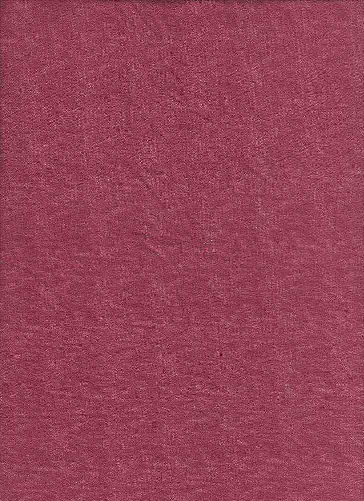 BT70055 / HEATHER RUBY / DTY BRUSHED