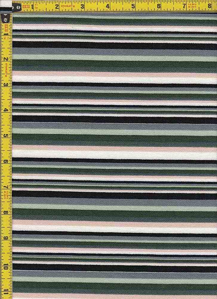 BP28115-13213B / GREEN/PEACH / DORIS CREPE PRINT-13213B