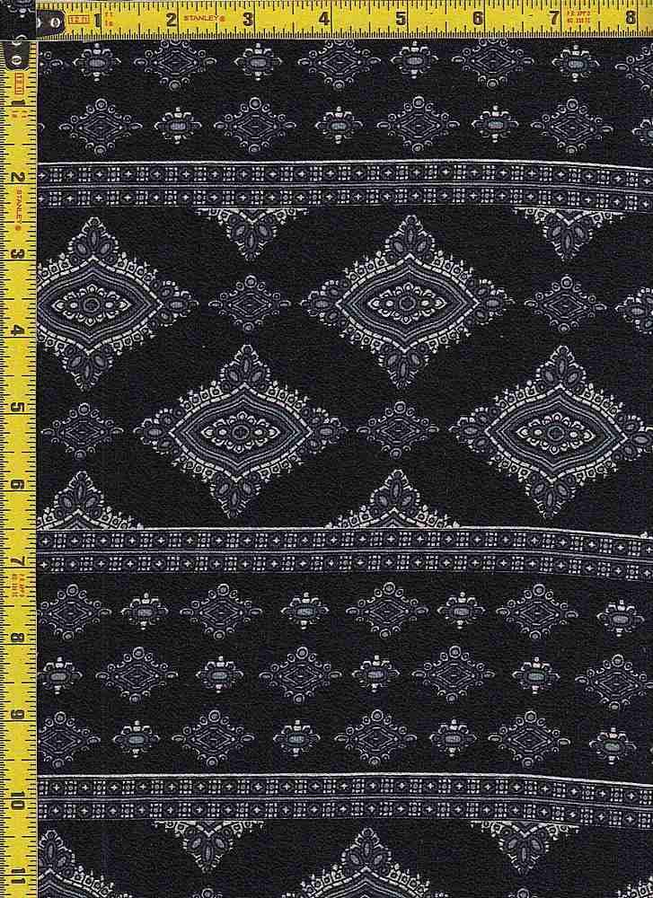 BP29056-14864 / BLACK / KOSHIBO PRINT-14864
