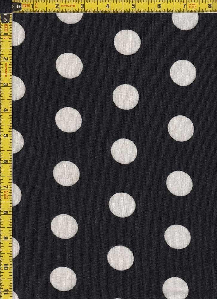 BP29003-14913 / BLACK/IVORY / 2T  HACCI BRUSH DOT PRINT-14913