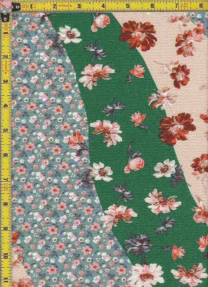 BP29056-14880B / GREEN / KOSHIBO PRINT - 14880B
