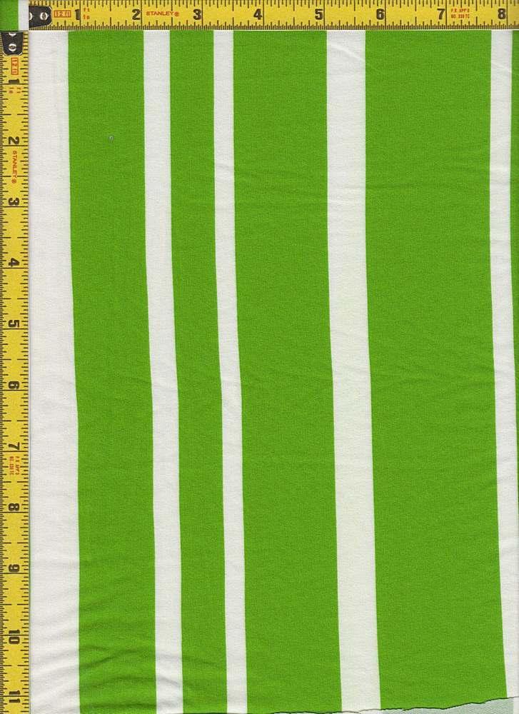 BP24118-71201C / GREEN/WHITE / MICRO DTY BRUSHED STRIPES PRINT-71201C