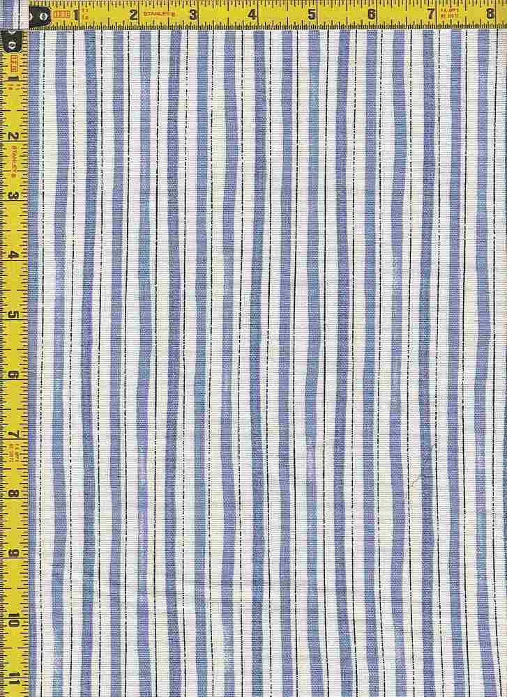 BP29123-13829 / RL - LT BLUE / RAYON LINEN PRINT