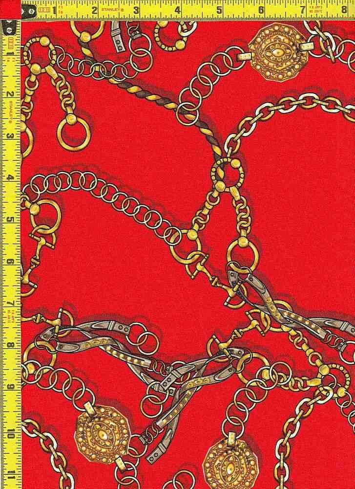 BP29117-0002 / CH RED / DTY NO BRUSH PRINT - 0002