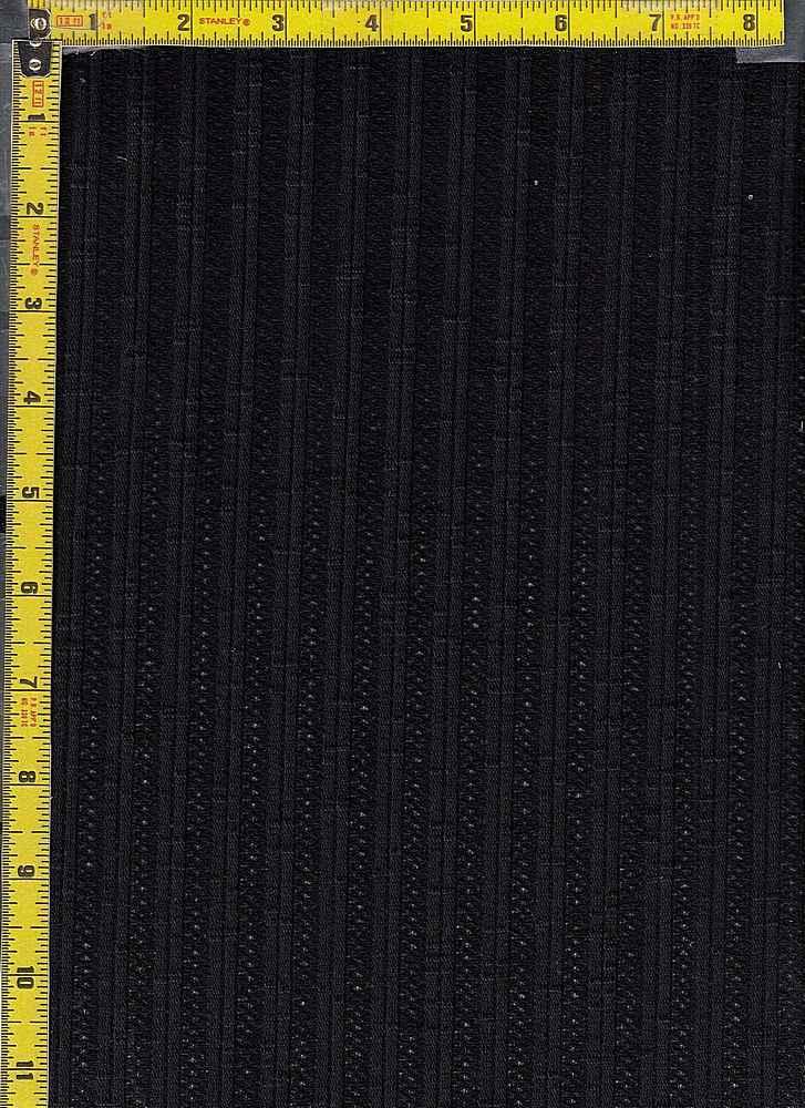 BP70140 / BLACK / JACQUARD RIB