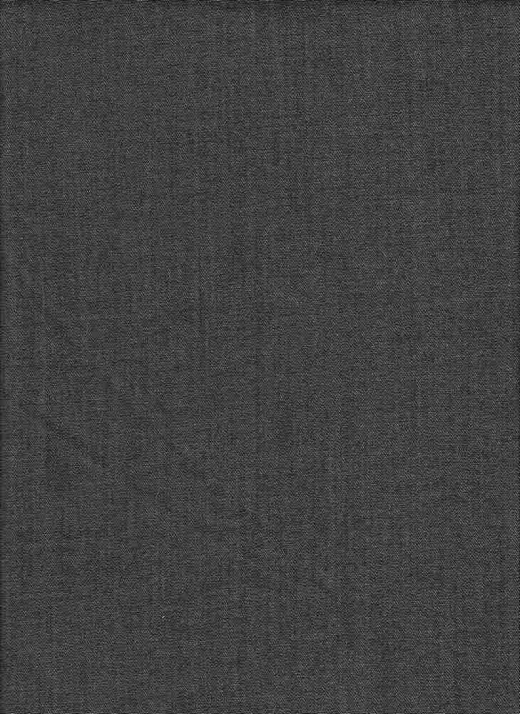 BP70011 / BLACK / TENCEL COTTON TWILL CHAMBRAY  65 TENCEL/35 COTTON