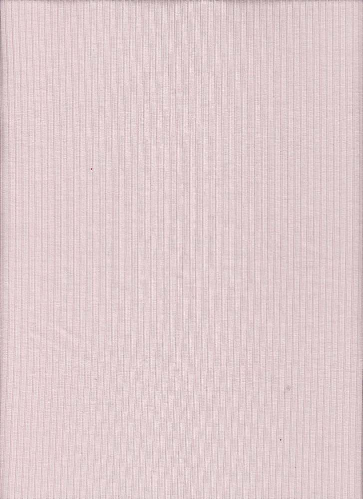 BP70015 / PINK / 4X2 RIBBED JERSEY 96P/4SP