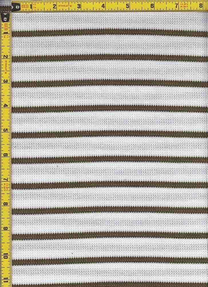BP70044 / IVORY/OLIVE / BP70044 WAFFLE STRIPES
