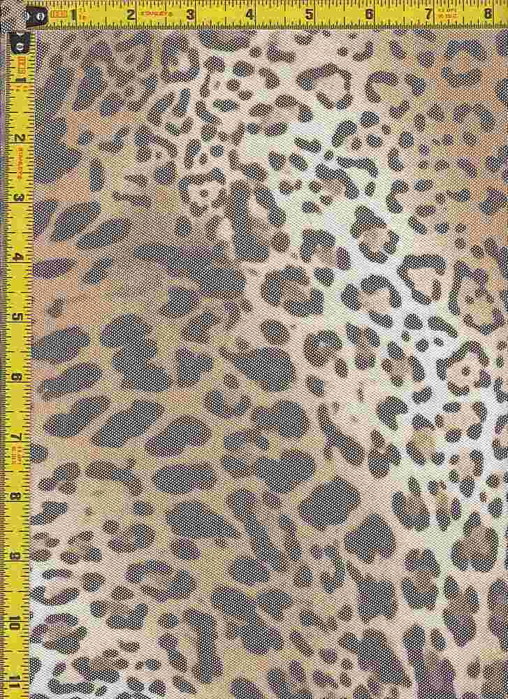 BP29051-11566 / LEOPARD / POWER MESH PRINT - 11566