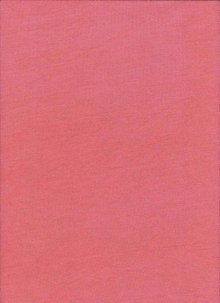BT80019 / RHM CORAL / Rayon Span Hacci Mesh [BABY HACCI] 95R/5S 120GSM