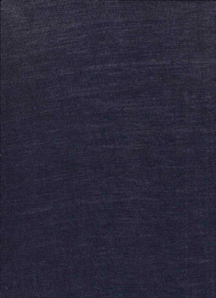 BT80019 / RHM DARK NAVY / Rayon Span Hacci Mesh [BABY HACCI] 95R/5S 120GSM