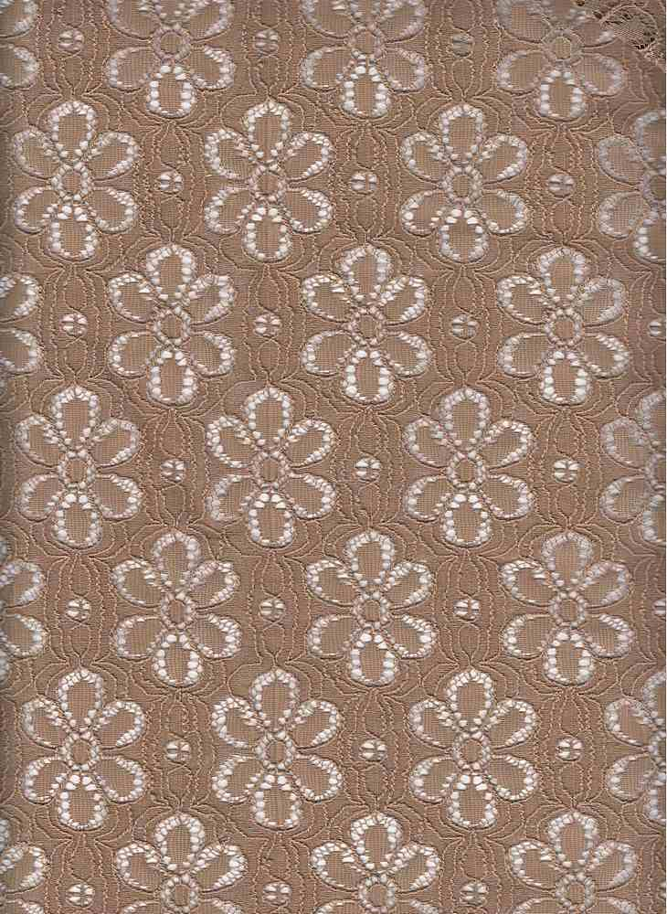 BT80040 / MCL LIGHT COCO / MARGARITA COTTON LACE [2604] 60C/40N 185GSM
