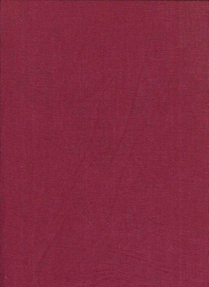 BT80019 / RHM BURGUNDY / Rayon Span Hacci Mesh [BABY HACCI] 95R/5S 120GSM
