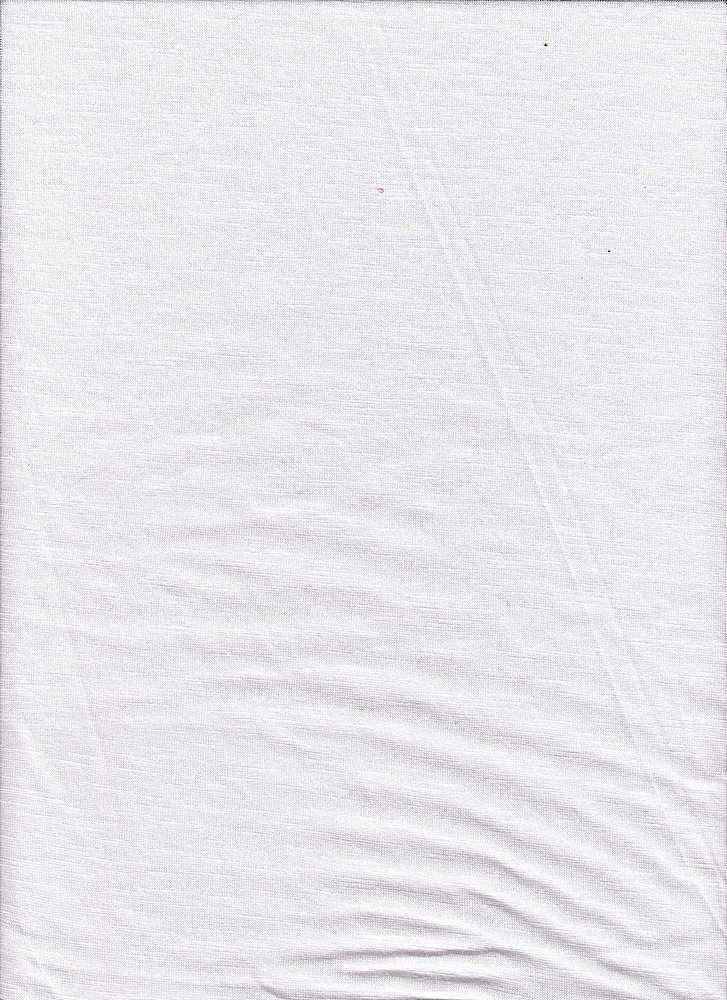 BP70018 / WHITE / COTTON MODAL SLUB 50C/50M