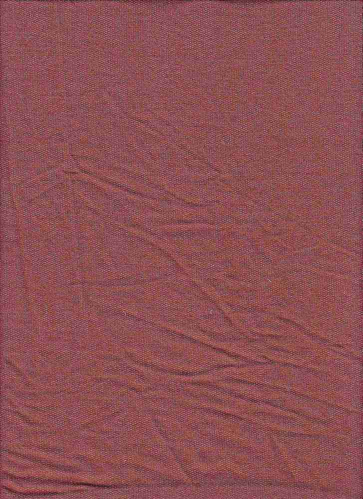 BP70013 / MARSALA 2-TONED / BABY FRENCH TERRY 67R / 29P / 4SP