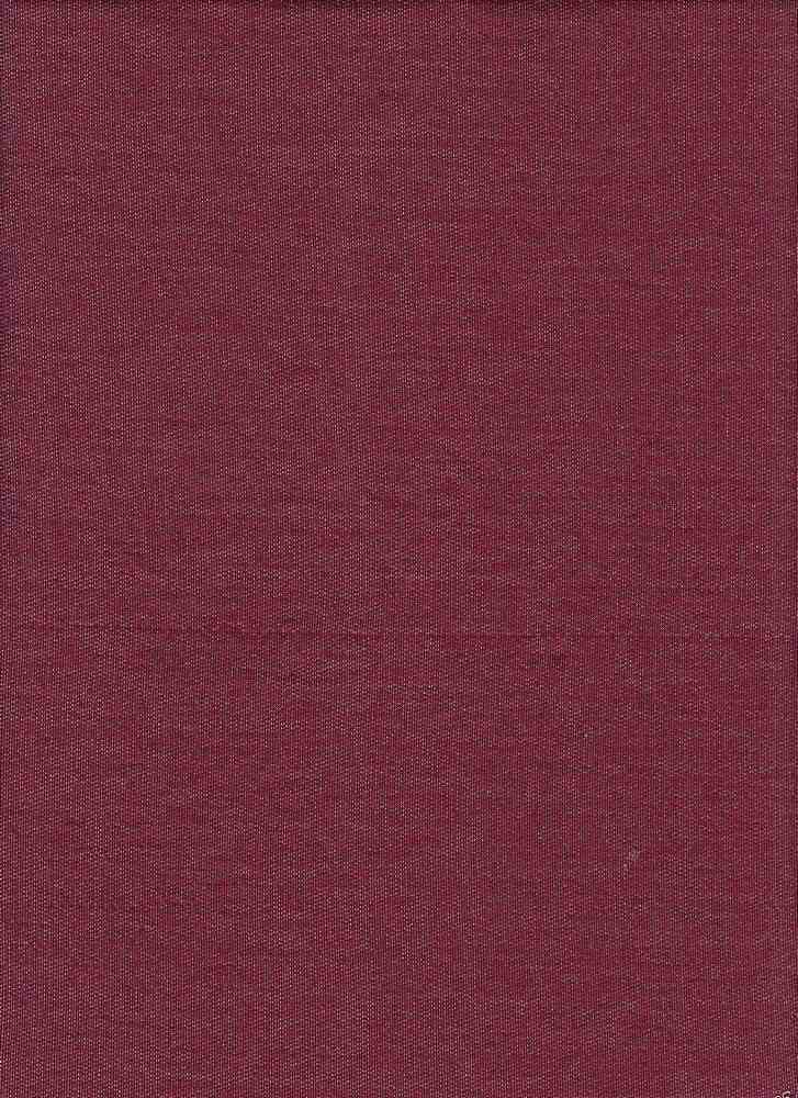 BP70013 / BURGUNDY 2-TONED / BABY FRENCH TERRY 67R / 29P / 4SP