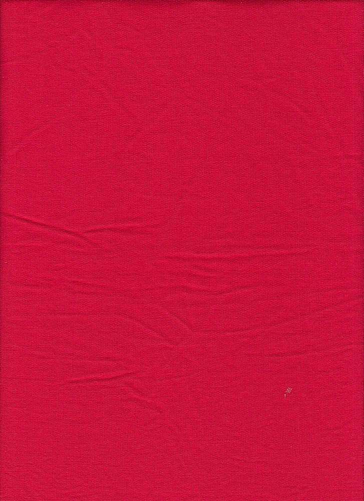 BP70013 / RED / BABY FRENCH TERRY 67R / 29P / 4SP