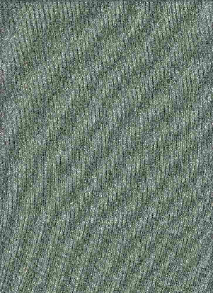 BP70101 / MILITARY GREEN/SILVER / SHINY HACCI LUREX