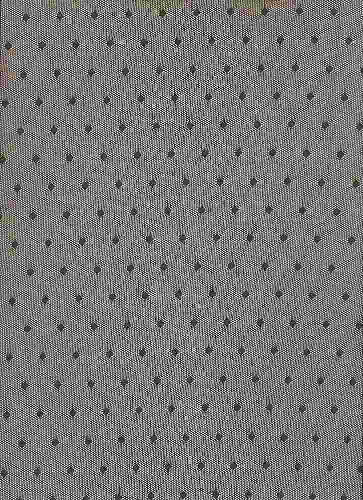 BP70082 / DK OLIVE / NYLON MESH POLKA DOT