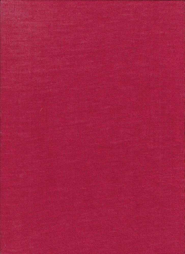 BT80019 / RHM RED #3 / Rayon Span Hacci Mesh [BABY HACCI] 95R/5S 120GSM